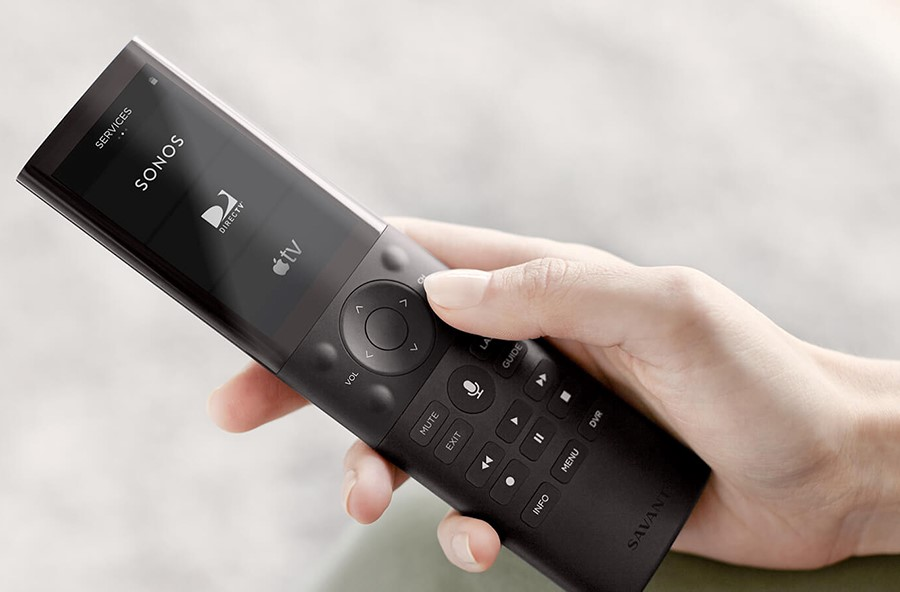 The Perfect Remote for Your Media Room: Savant Pro